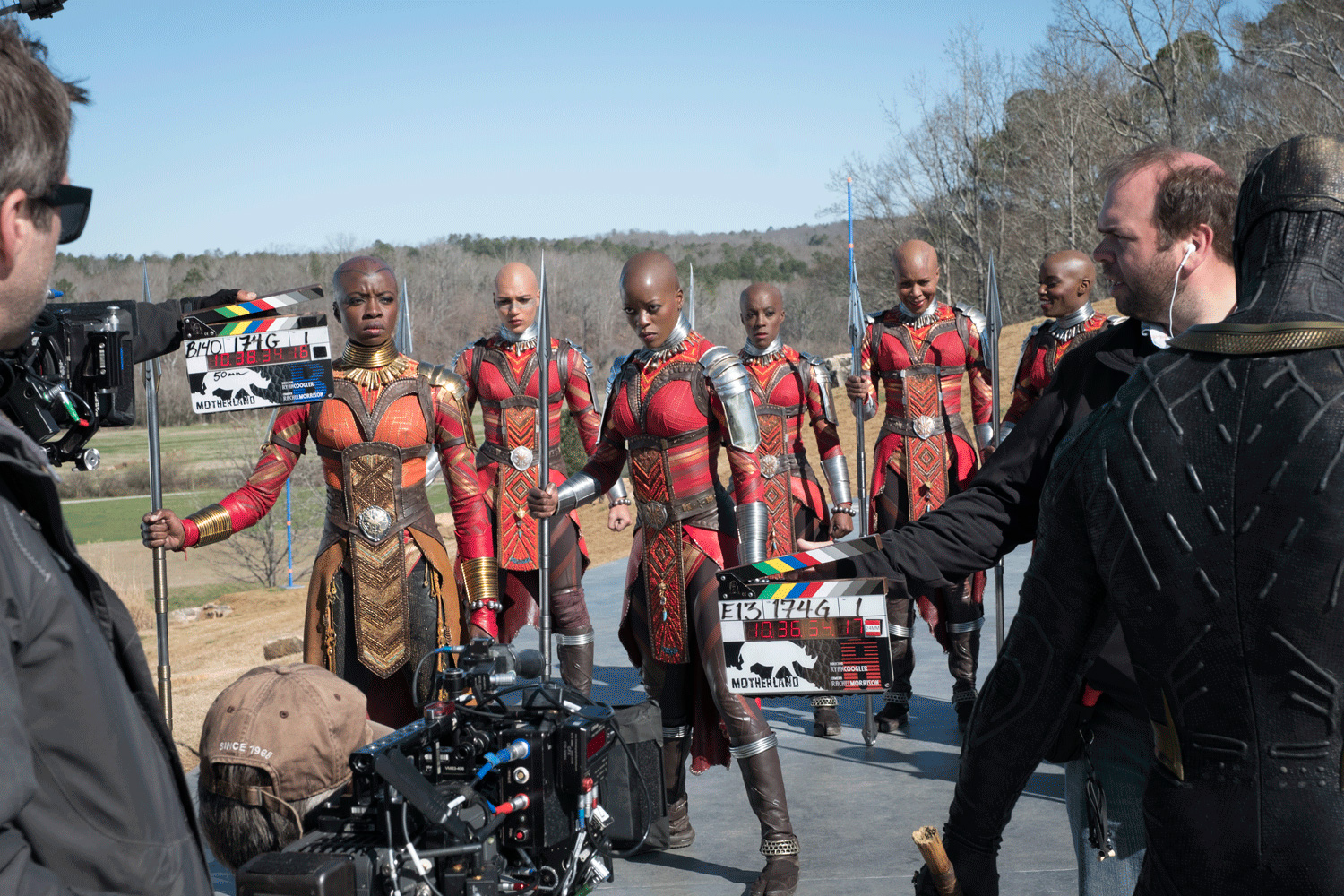 black panther filming