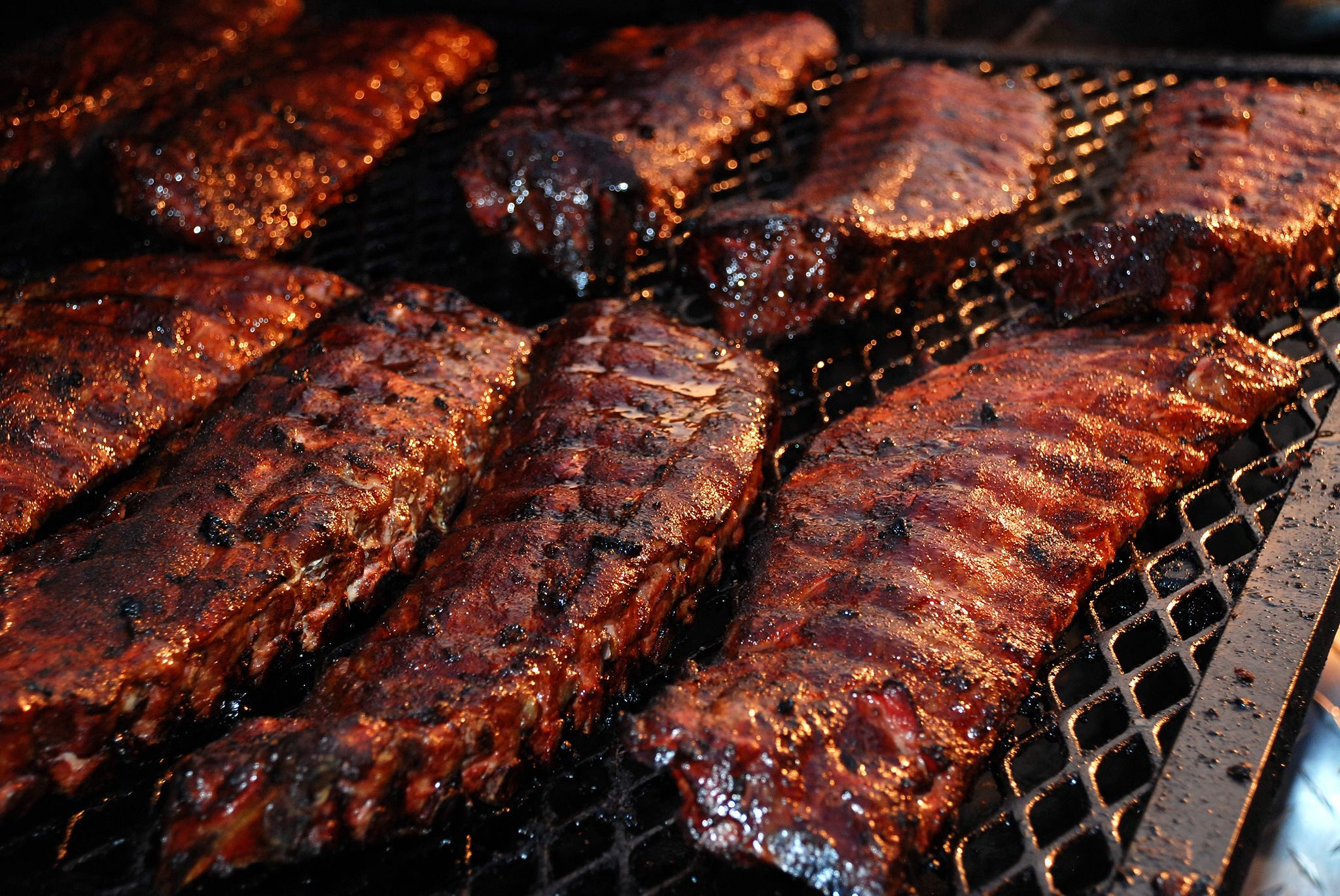 Ribs at Tifton's Rhythm & Ribs BBQ Festival