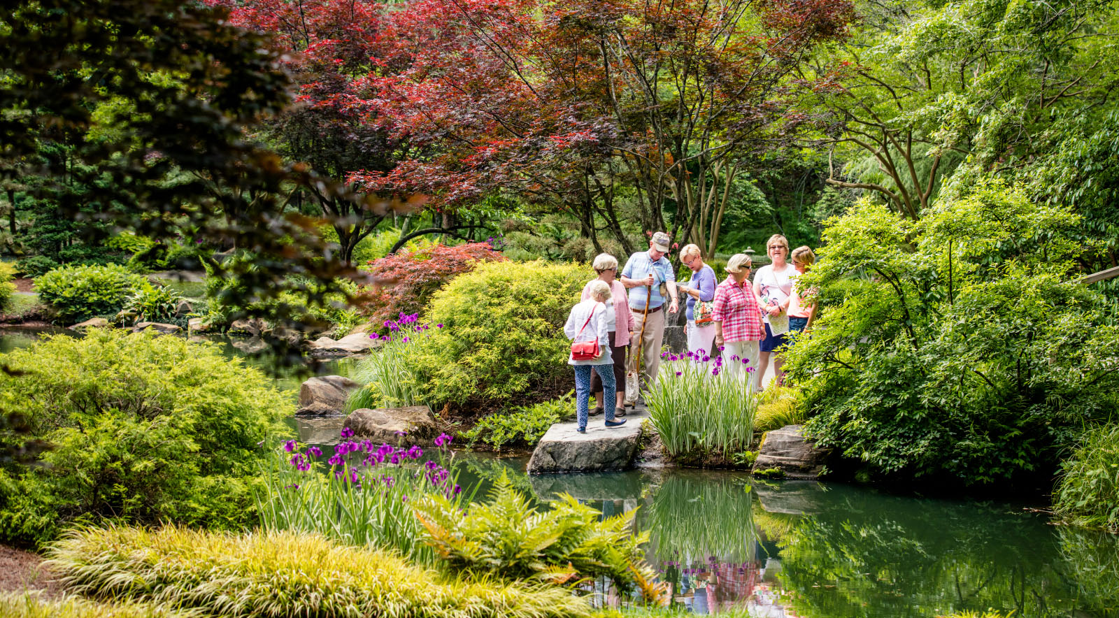 Gibbs Gardens Group Tour
