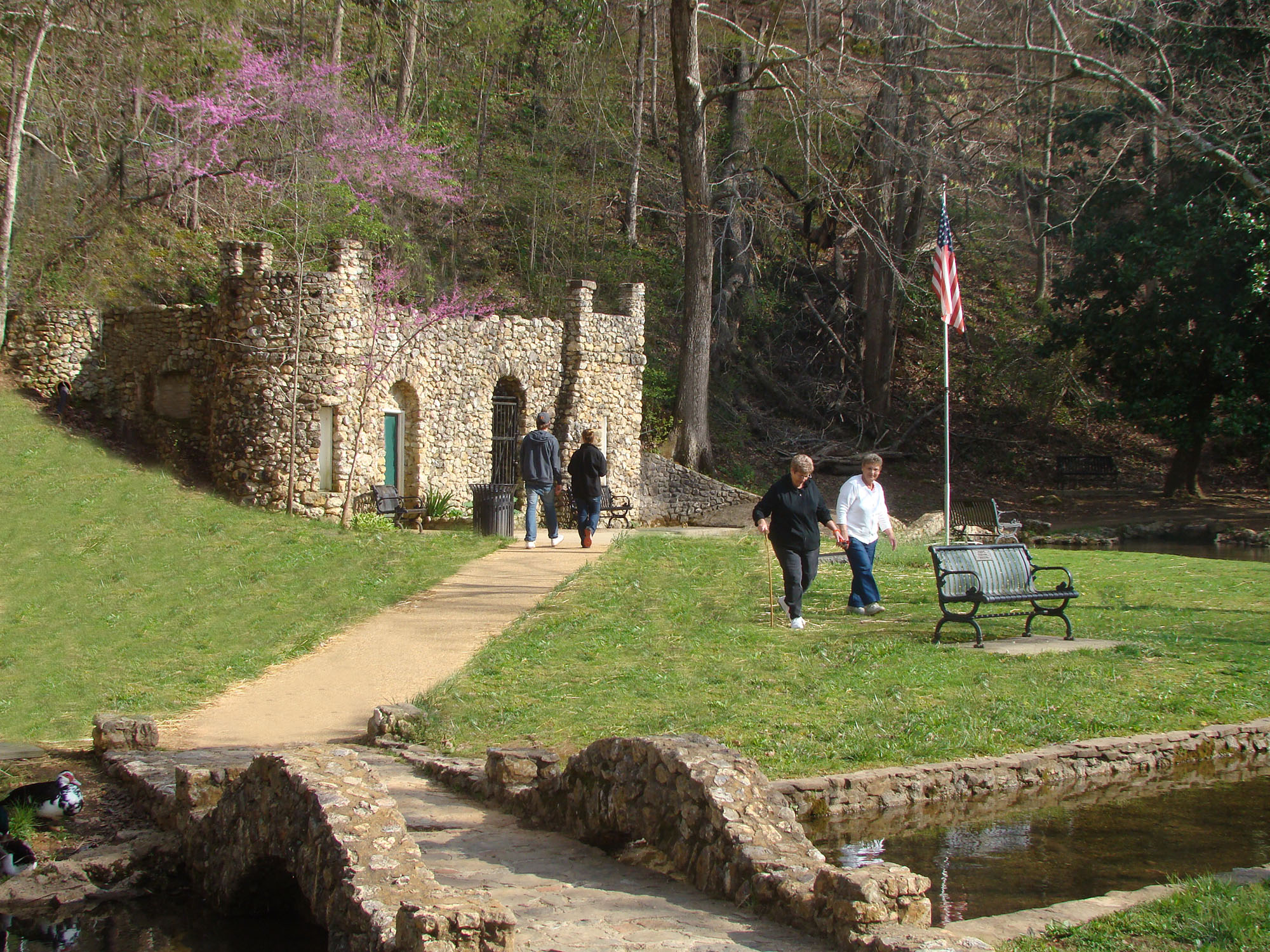 Rolater Park in Cave Spring, Georgia