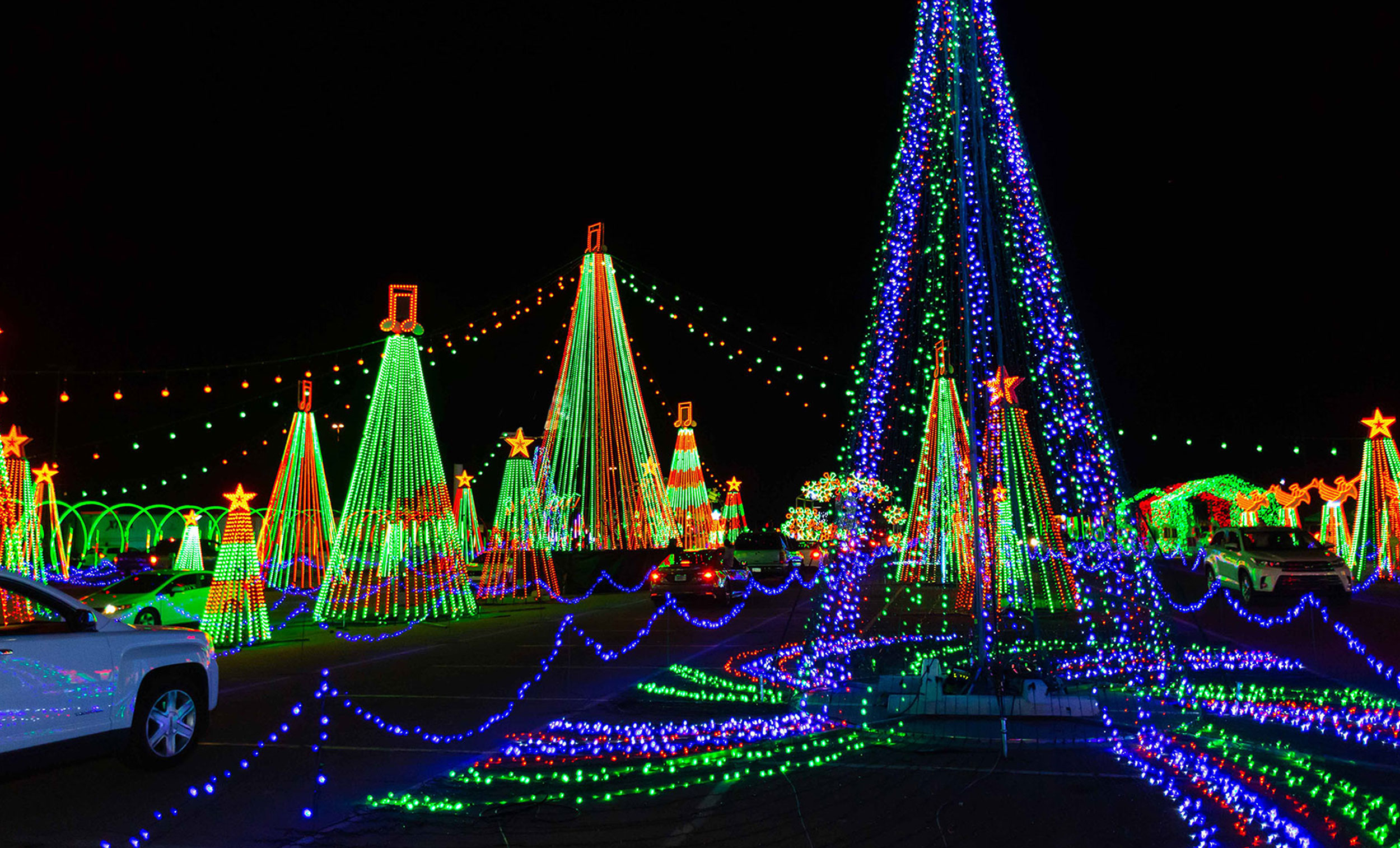 10 Holiday Light Displays In Georgia Updated 2020