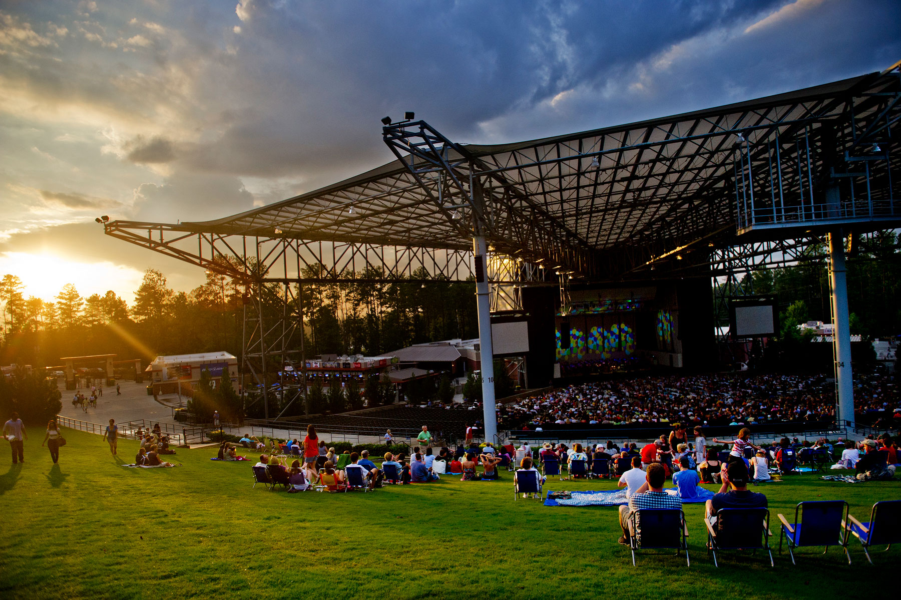 Ameris Bank Amphitheater in Alpharetta, Georgia