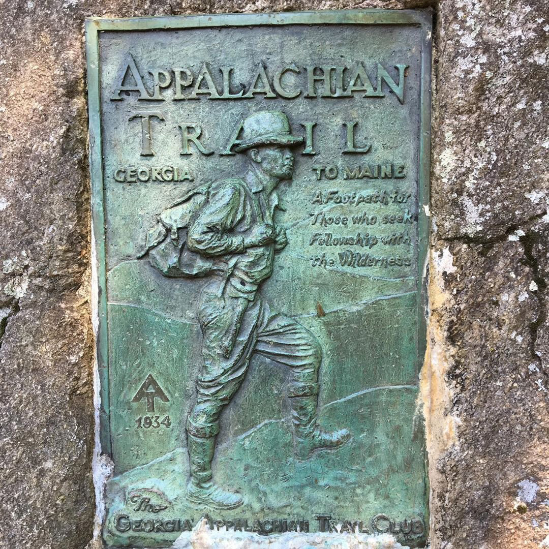 Appalachian Trail sign. Photo by Maxine, @mbier1