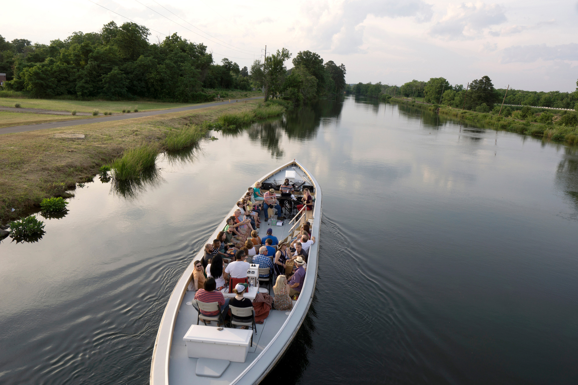 Music cruise on the Augusta Canal