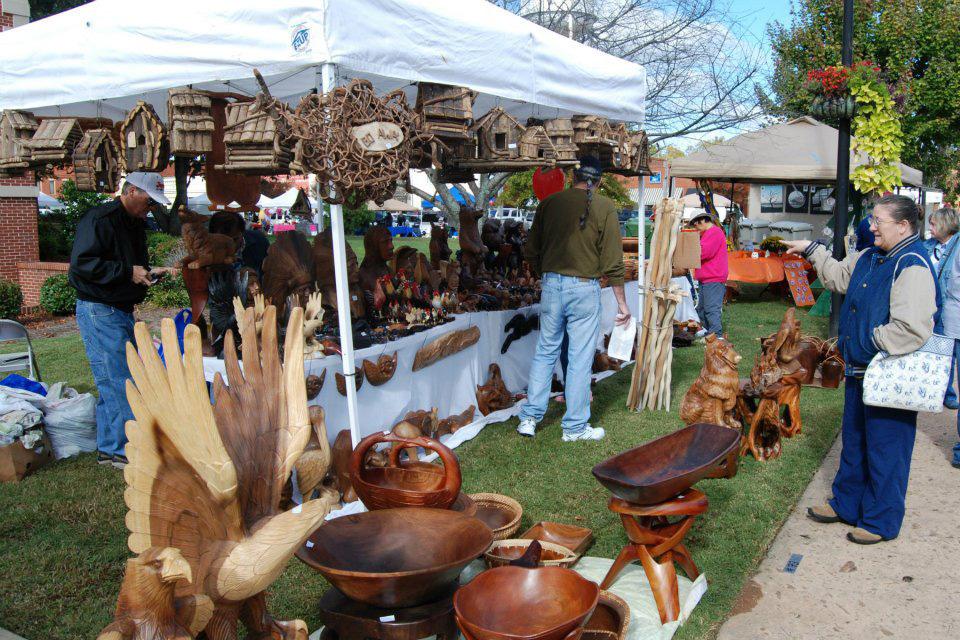 Briar Patch Arts & Crafts Festival in Eatonton, Georgia