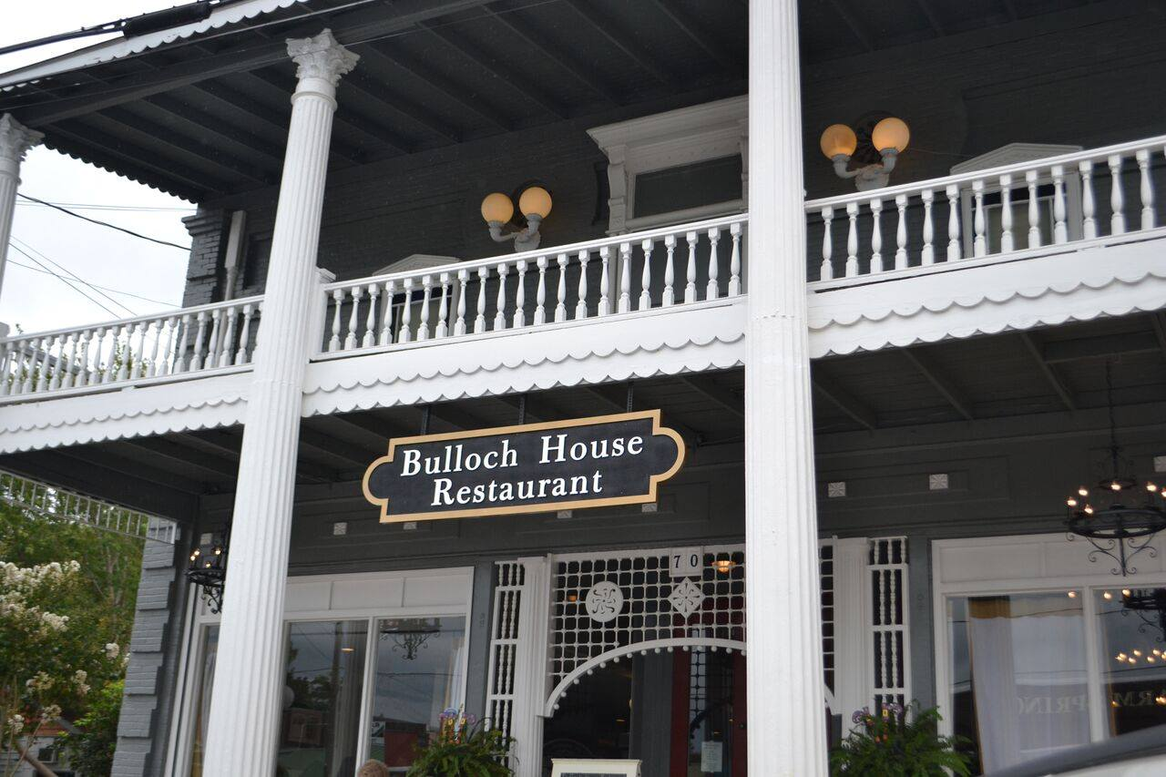 The Bulloch House Restaurant in Warm Springs, Georgia
