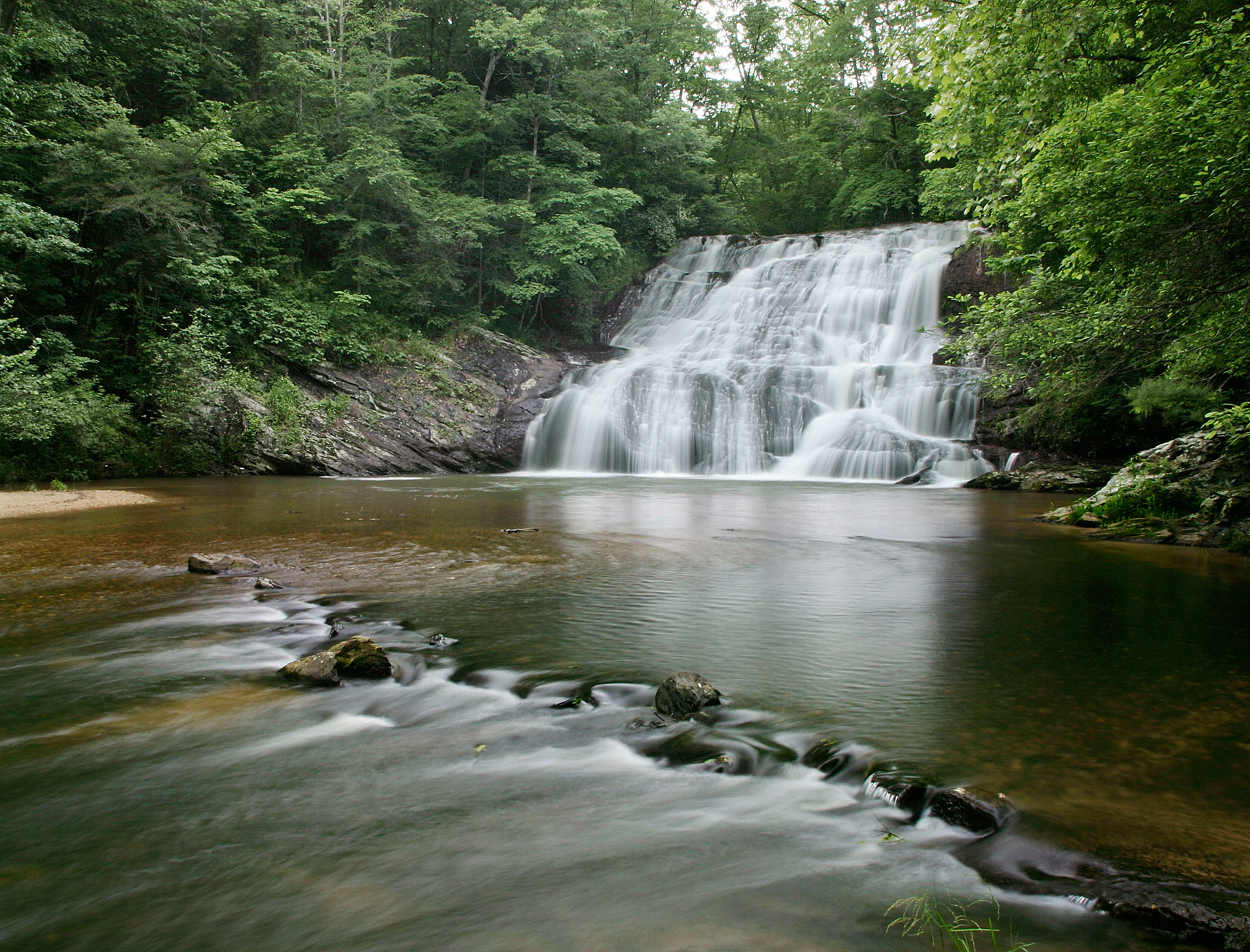 Cane Creek Falls in Dahlonega. Photo by Jack Anthony