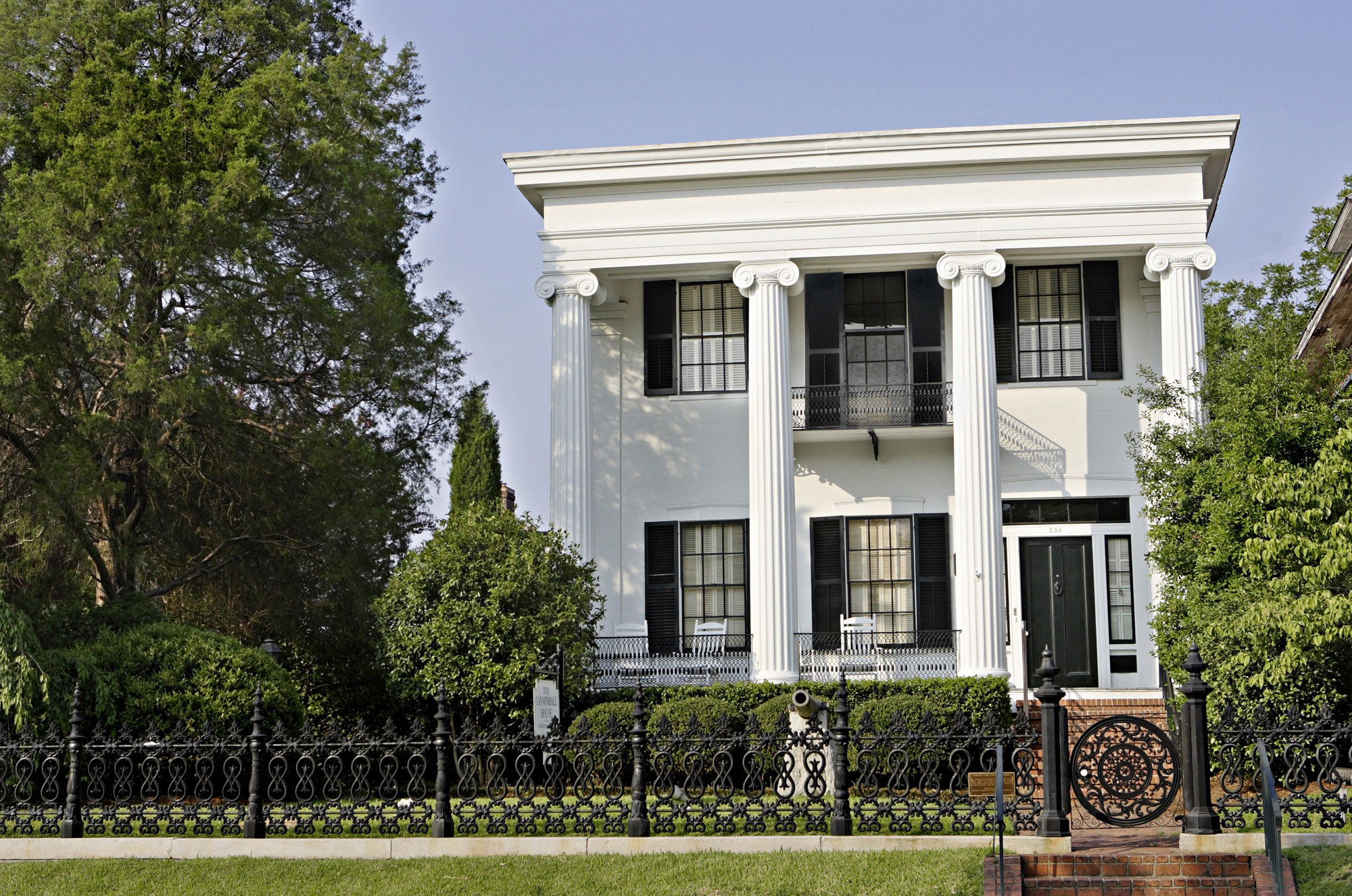 The Cannonball House in Macon, Georgia