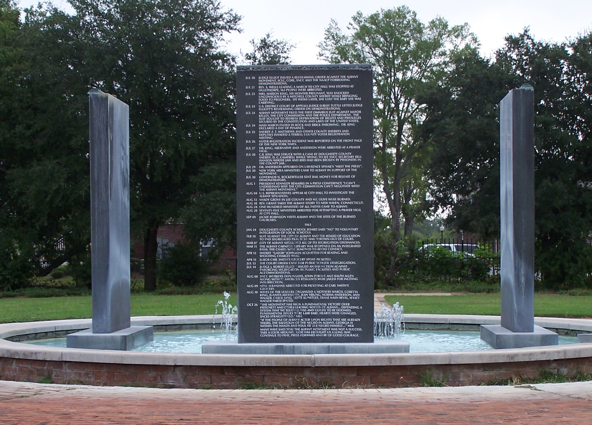 Albany Civil Rights Movement Memorial