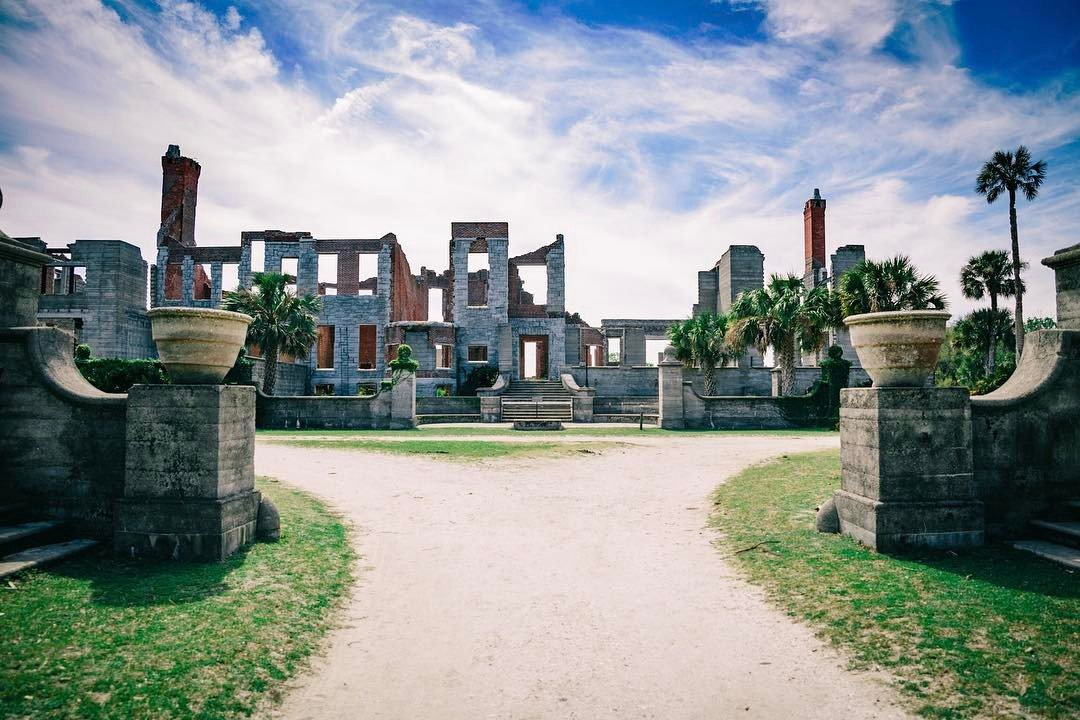 Dungeness Ruins on Cumberland Island. Photo by Justin Hardigree, @justin.hardigree