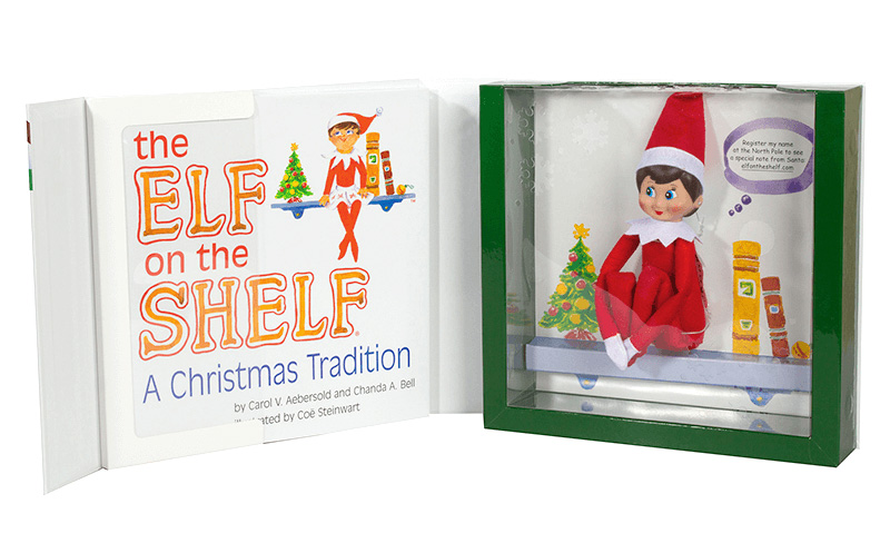 Elf on the Shelf storybook and doll