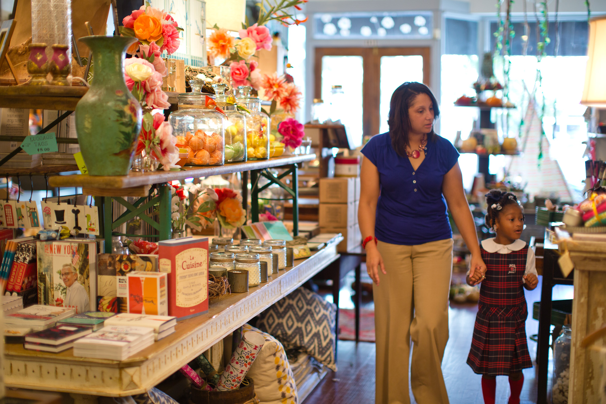 Shopping in Firefly in Thomasville, Georgia