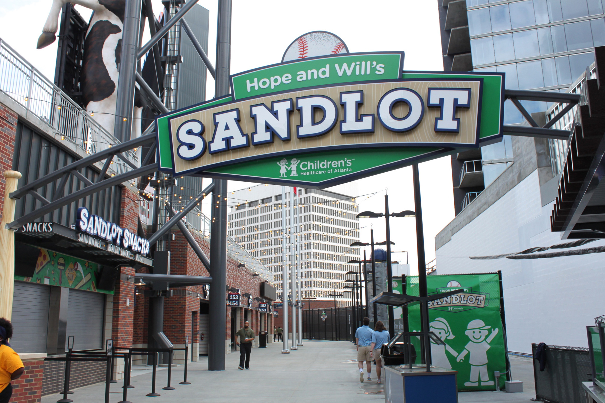 Hope and Will's Sandlot at SunTrust Park, home of the Atlanta Braves