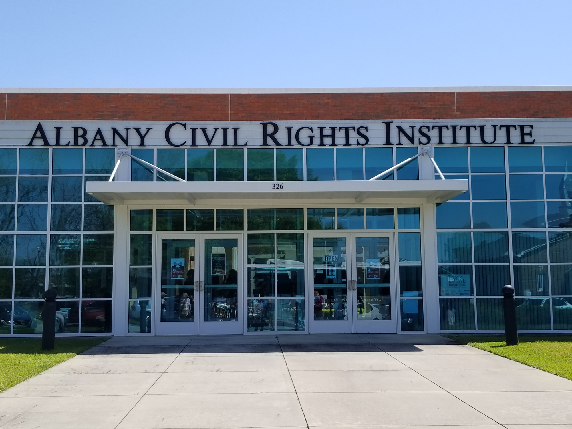 Albany Civil Rights Institute. Photo by Kalin Thomas