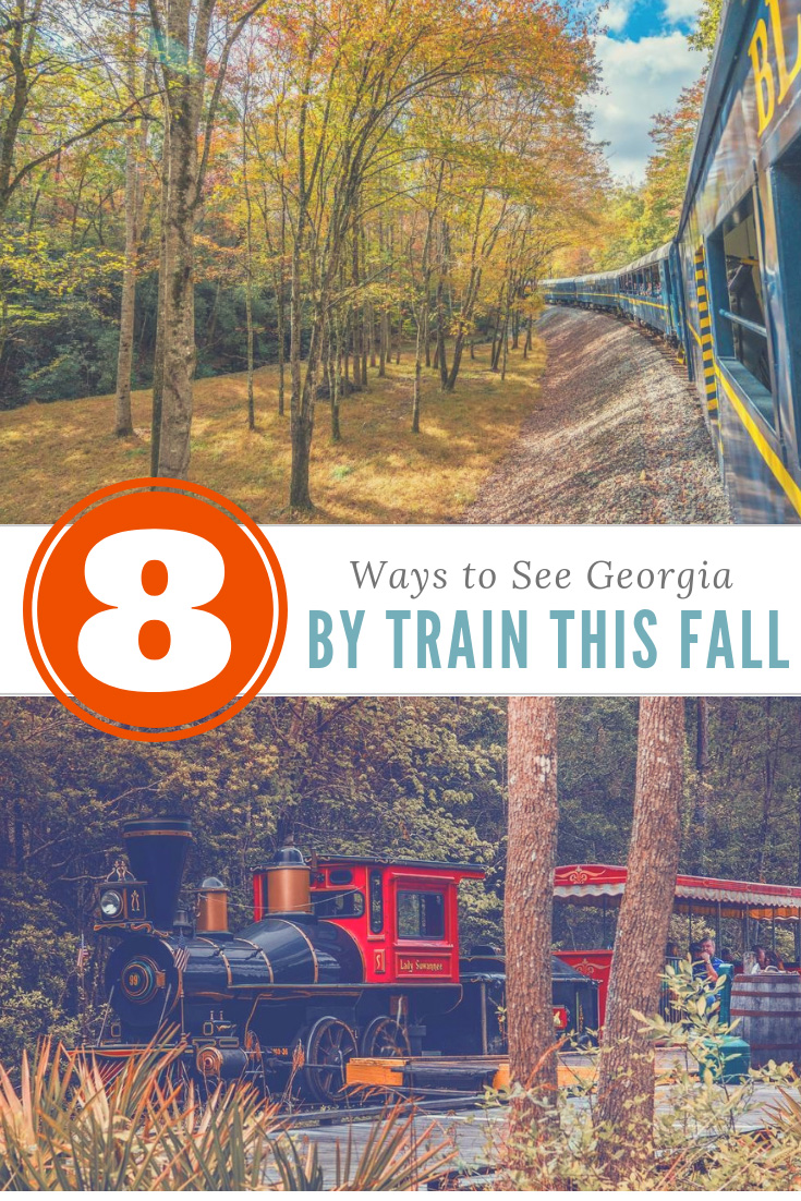 Pin this for Georgia fall train rides