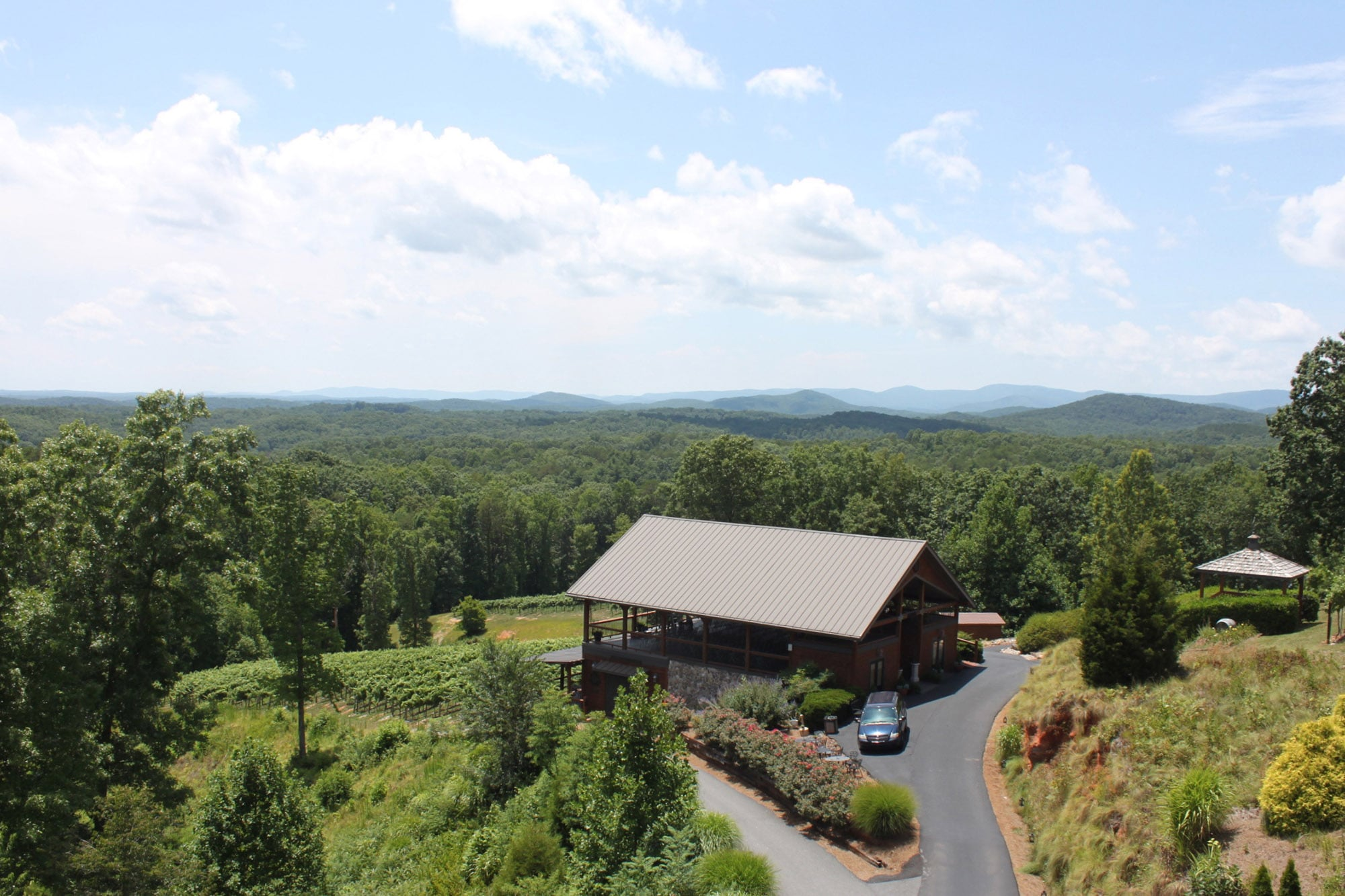 Wolf Mountain Vineyards & Winery in Dahlonega, Georgia
