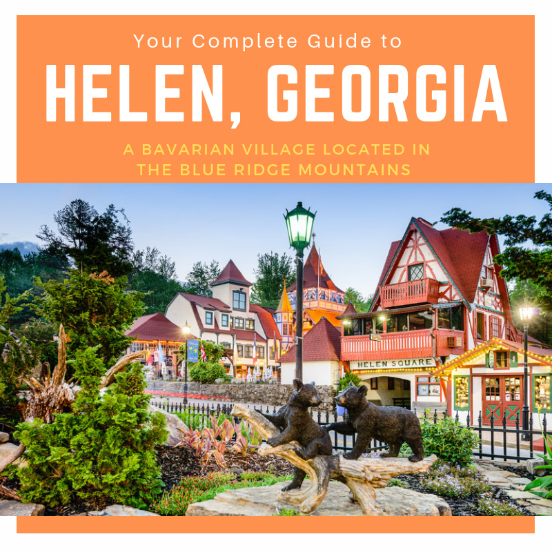 Pin this guide to Helen, Georgia
