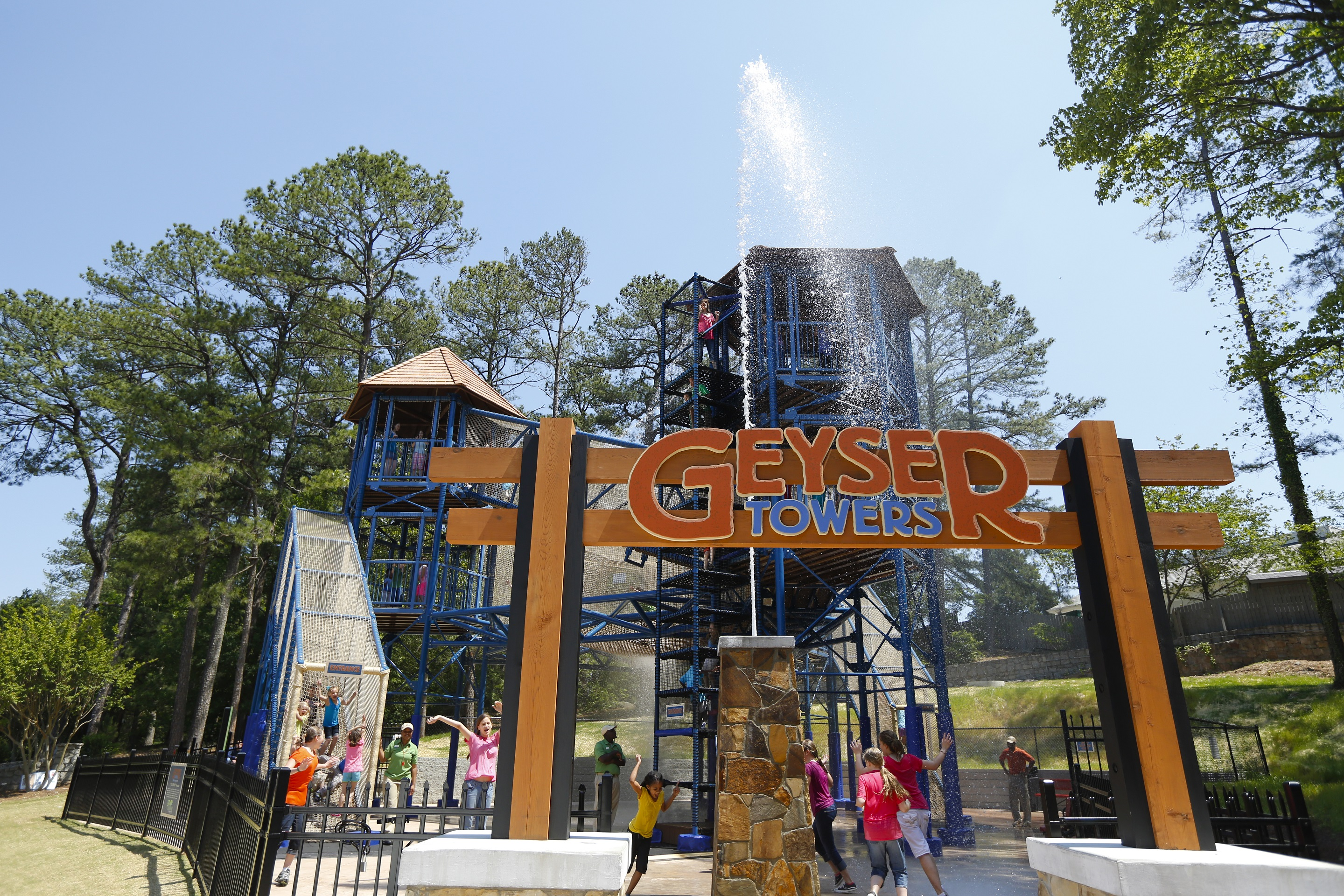 Geyser Towers at Crossroads at Stone Mountain Park