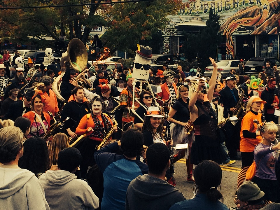 Little Five Points Halloween Parade in Atlanta