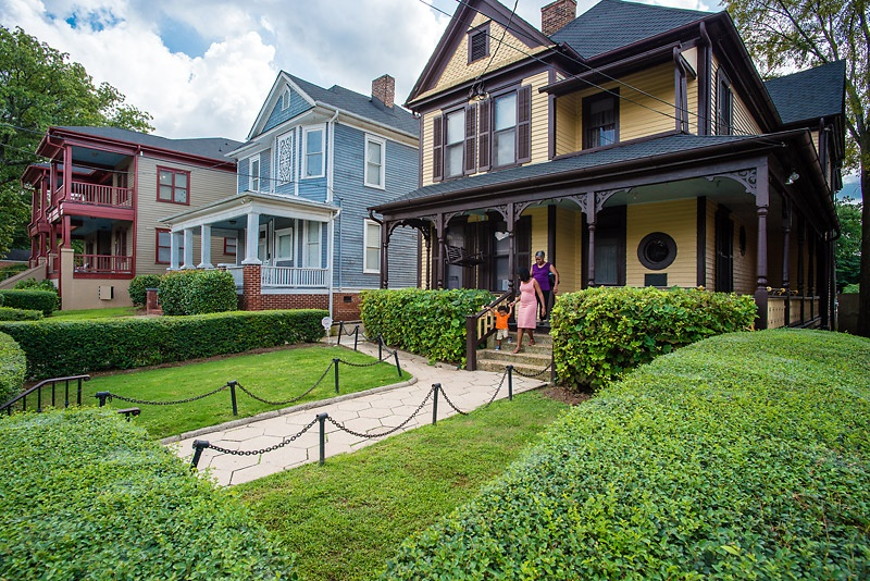 Located in Atlanta's historic Sweet Auburn neighborhood, the Martin Luther King Birth Home gives a glimpse into the iconic civil rights leader's upbringing. - ©2015, Kevin Rose/AtlantaPhotos.com
