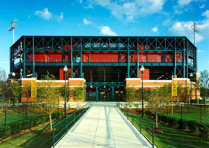 South Commons Softball Complex and Stadium in Columbus, Georgia