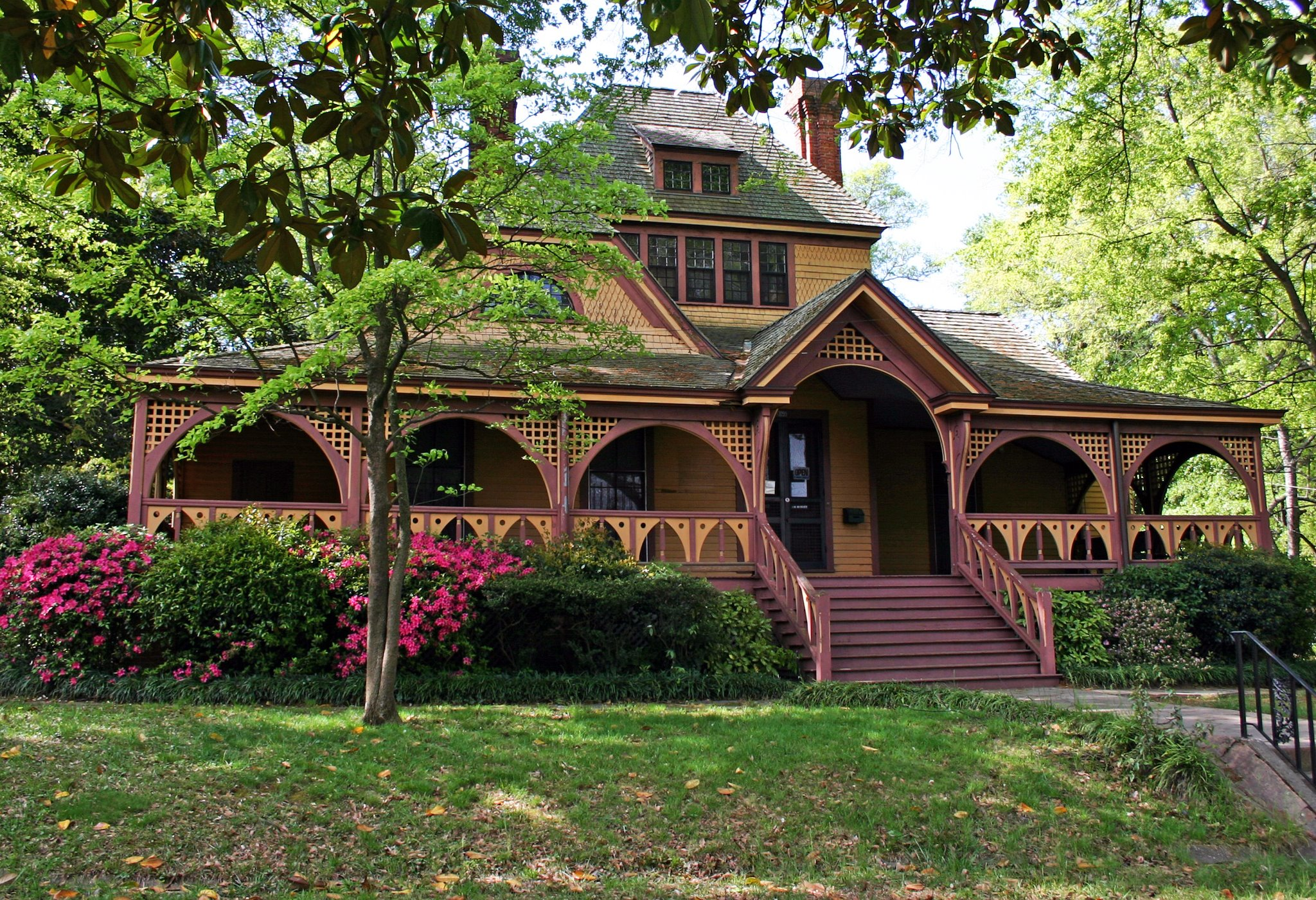 Located in Atlanta's historic West End, the Wren's Nest is Atlanta's oldest house museum. It was home of Joel Chandler Harris, recorder of the Br'er Rabbit stories.