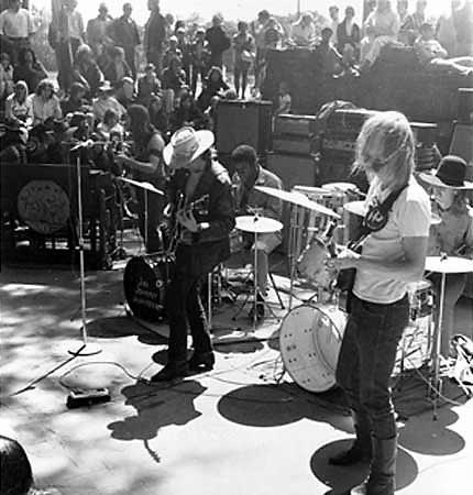 Allman Brothers Band in Piedmont Park. Photo by Twiggs Lyndon, courtesy ABB Archives