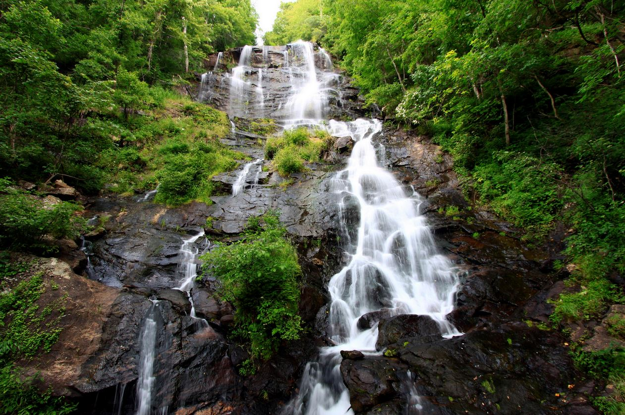 At 729 feet, Amicalola Falls is the tallest cascading waterfall in the Southeast. Photo by Seth Berry Photography via Flickr