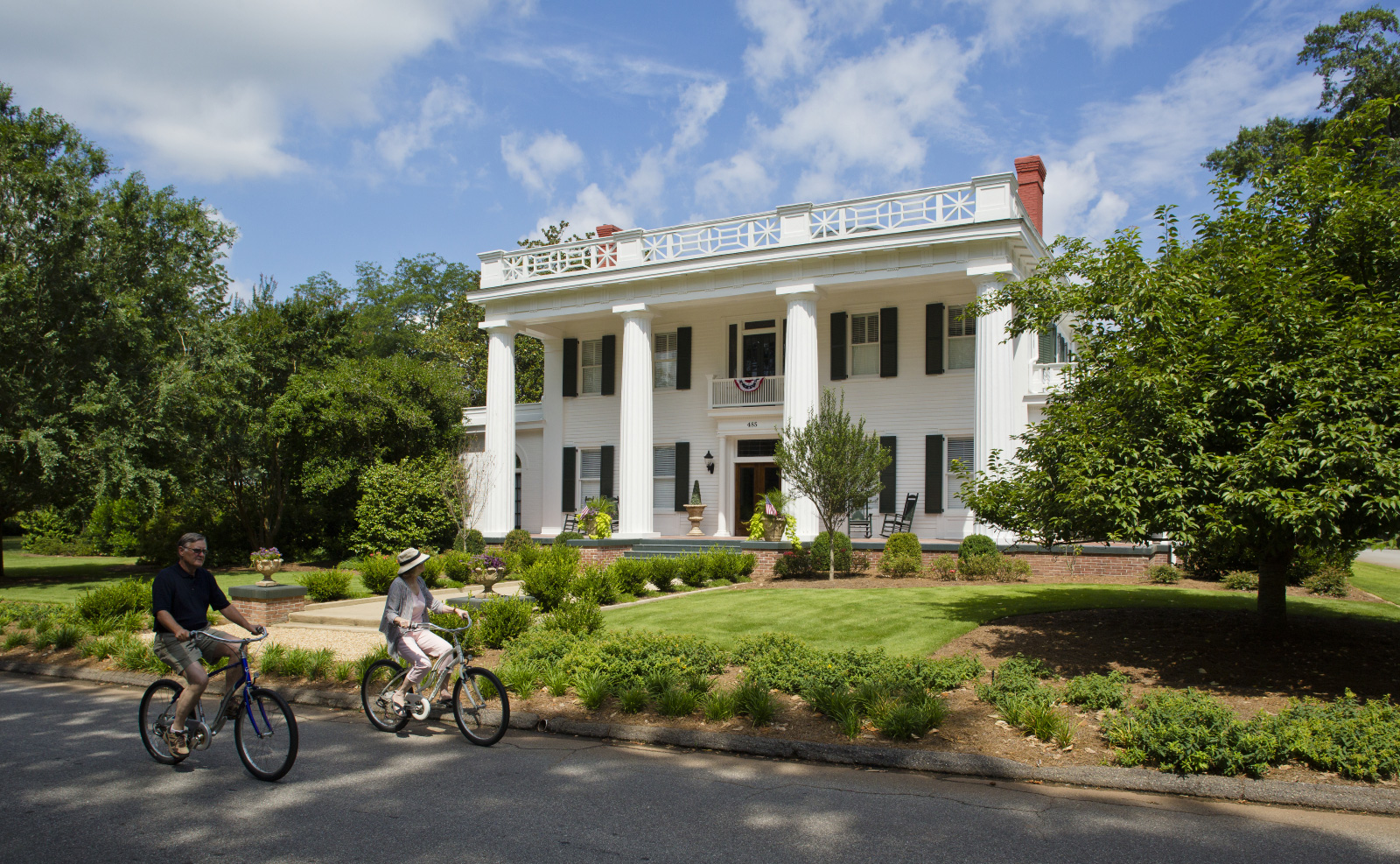 Antebellum Trail Bicycle Route