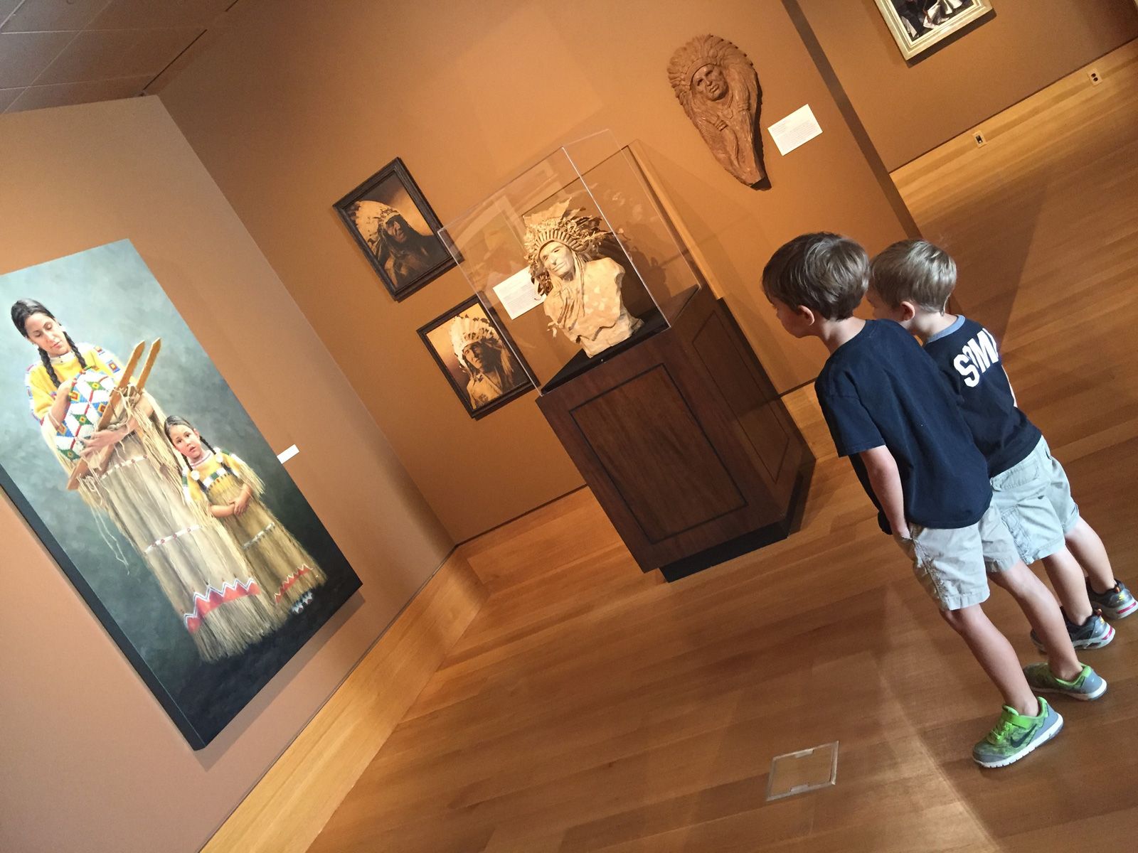 Explore galleries full of paintings, sculpture, photos and more at Booth Western Art Museum. Photo credit: Lesli Peterson