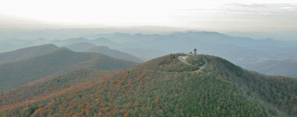 Standing 4700 feet above sea level, Brasstown Bald is the highest peak in Georgia