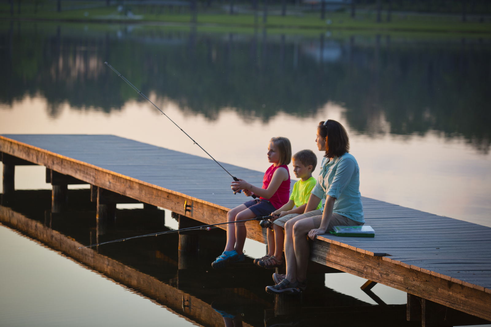 Five Tips for Taking Your Child Fishing in Georgia