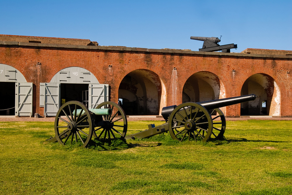 Fort Pulaski. Photo copyright: Jason Tench. Source: Shutterstock.com