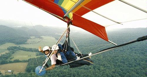 Hanggliding in North Georgia