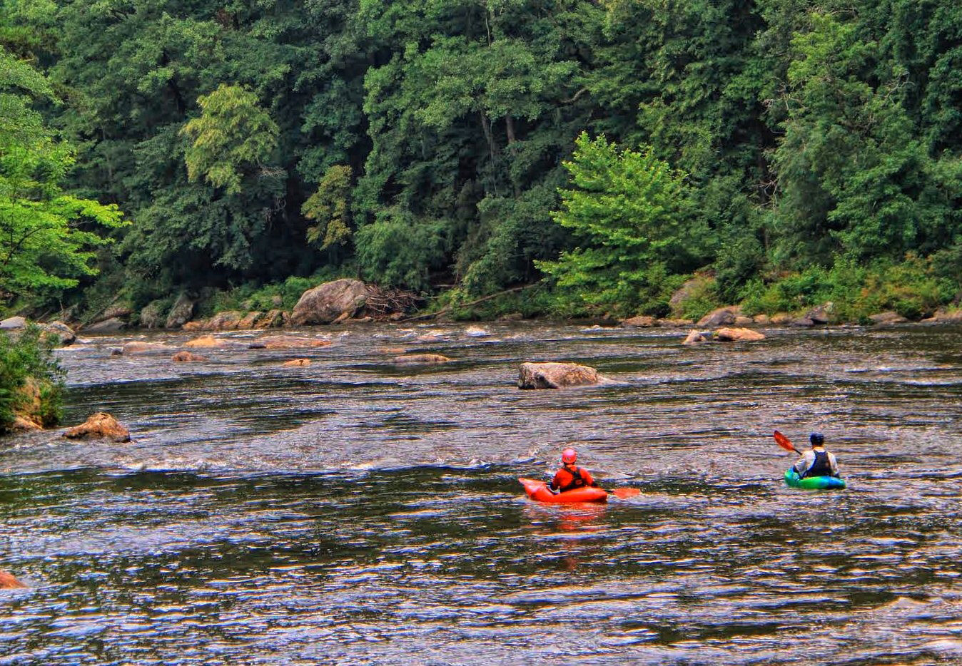 Chattooga River. Photo courtesy Southeastern Expeditions