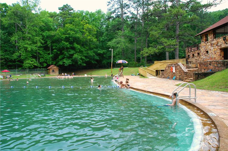 Liberty Bell Pool at F. D. Roosevelt State Park in Pine Mountain, Georgia