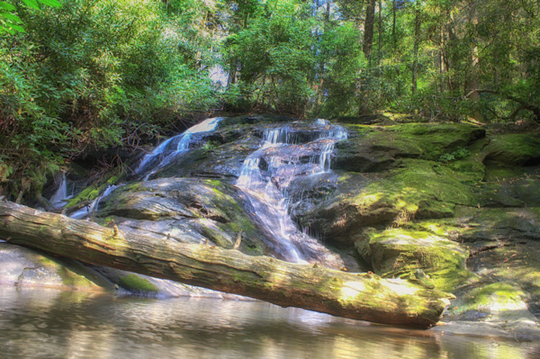Hike along an easy 2-mile stretch of the Appalachian and Benton MacKaye Trails to Long Creek Falls in Ellijay, Georgia. - Candy Cook