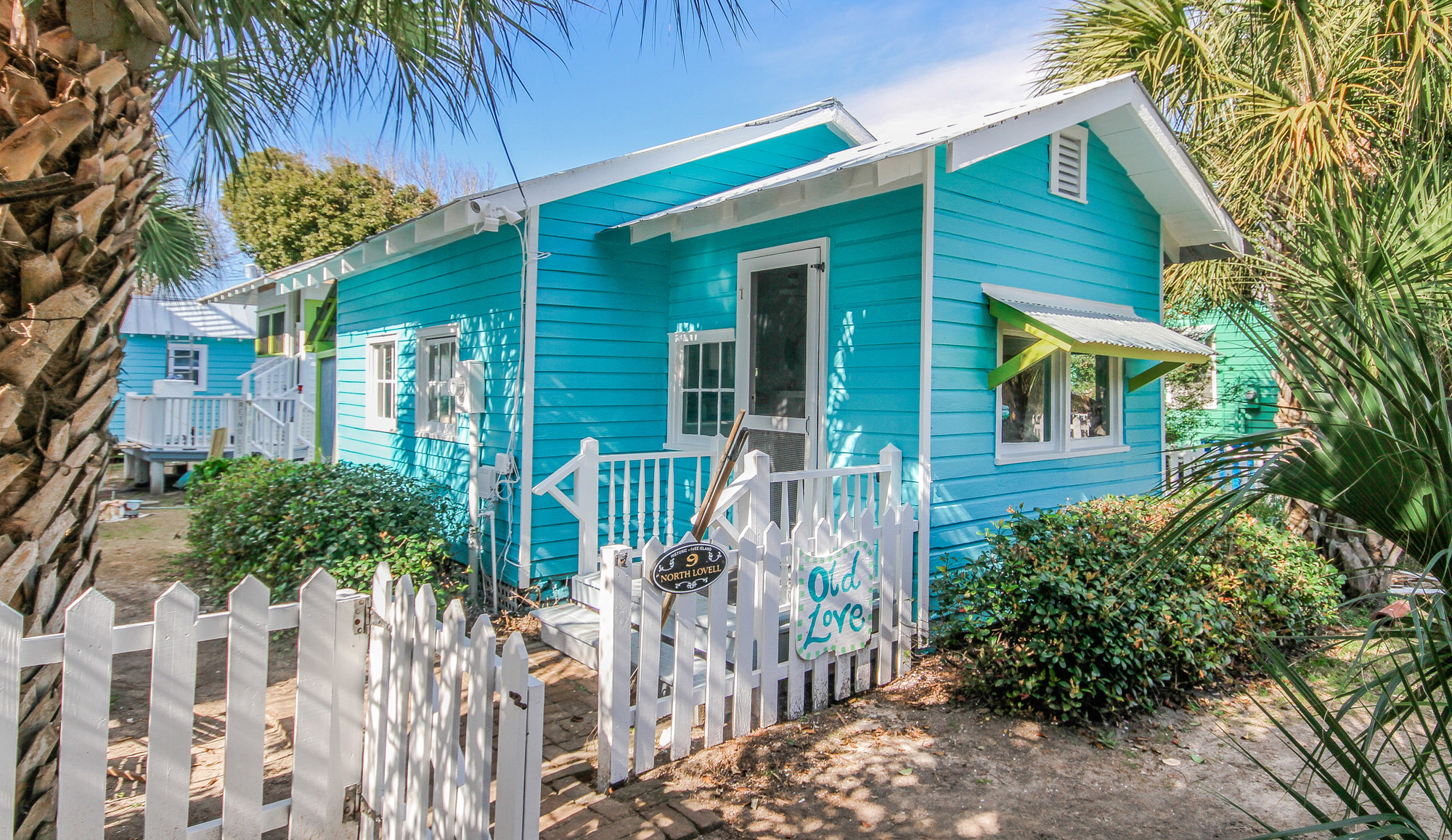 Mermaid Cottages Vacation Rentals on Tybee Island