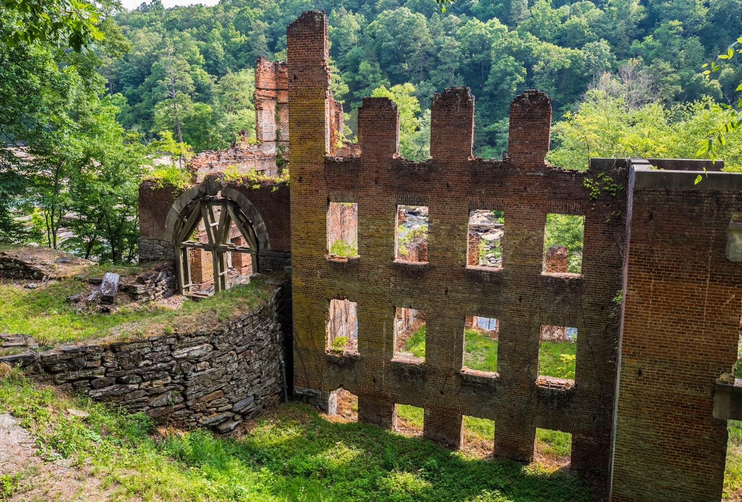 New Manchester Mill Ruins at Sweetwater Creek State Park