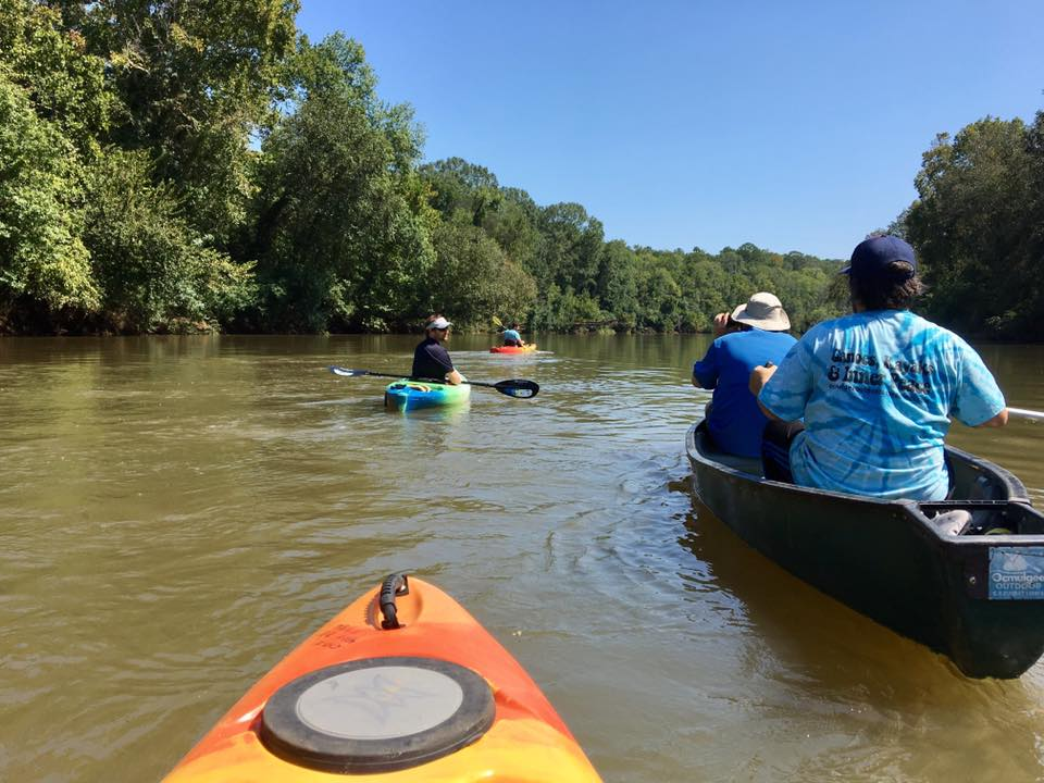 Kayaking with Ocmulgee Outdoor Expeditions in Macon
