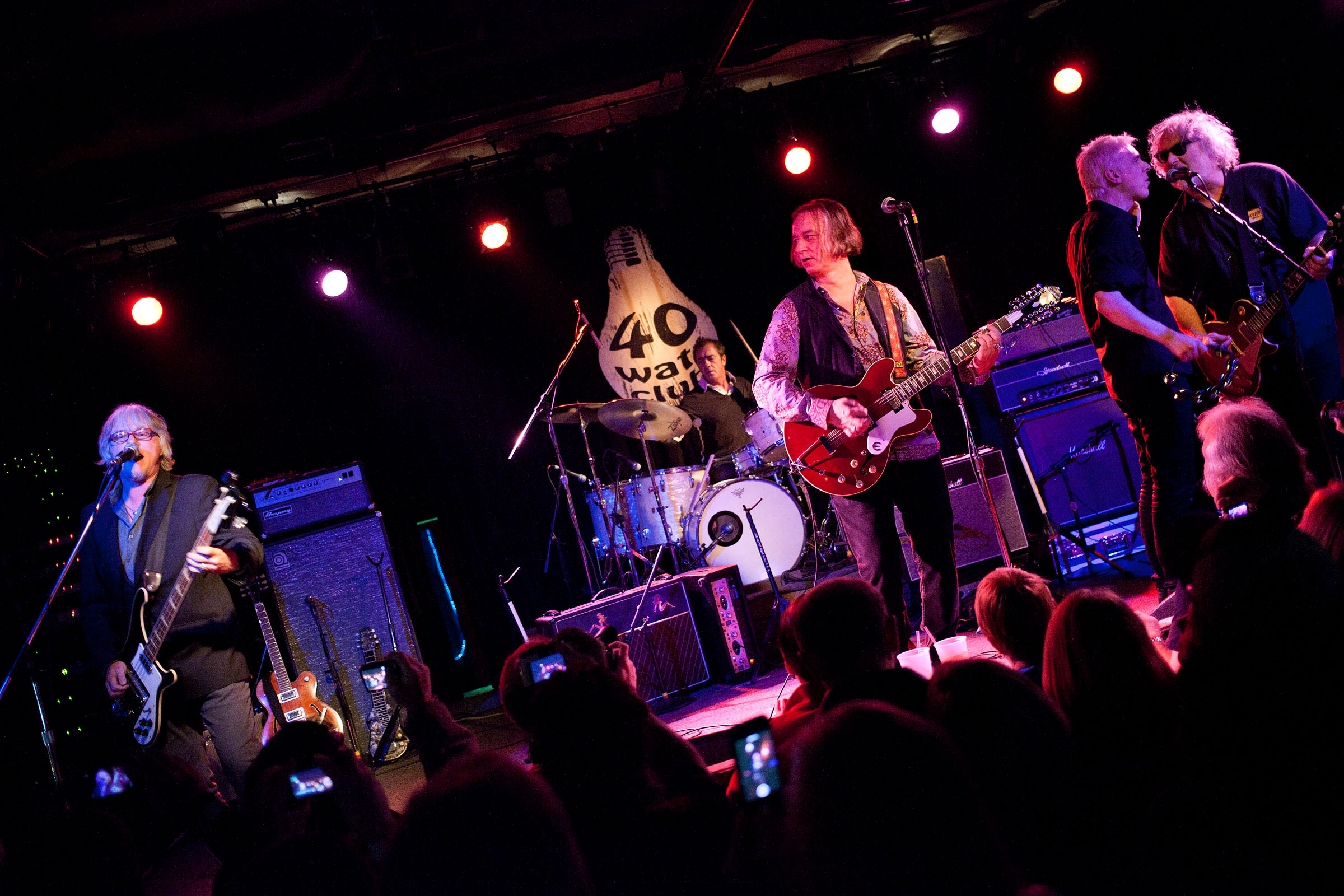 Peter Buck and friends at the 40 Watt Club in Athens