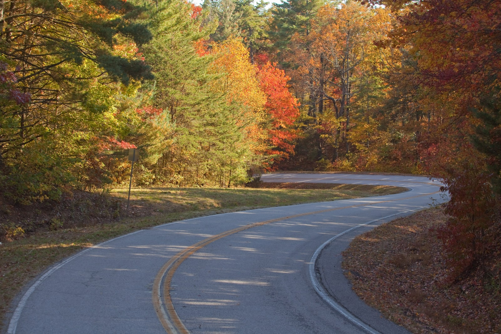 Richard B. Russell Scenic Highway in the Chattahoochee-Oconee National Forest