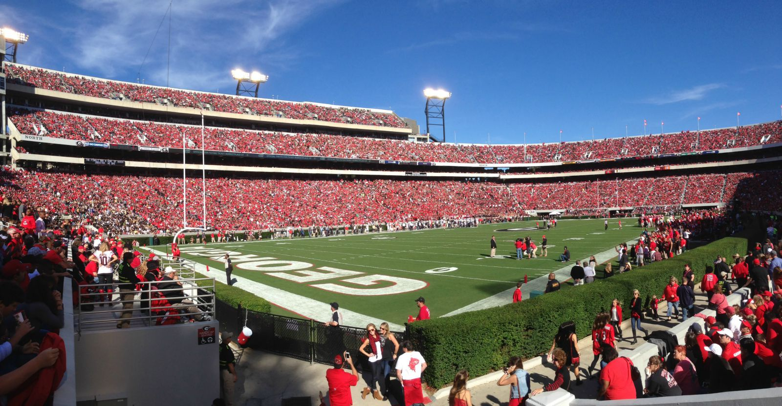 Sanford Stadium in Athens. Photo by Broad Collective