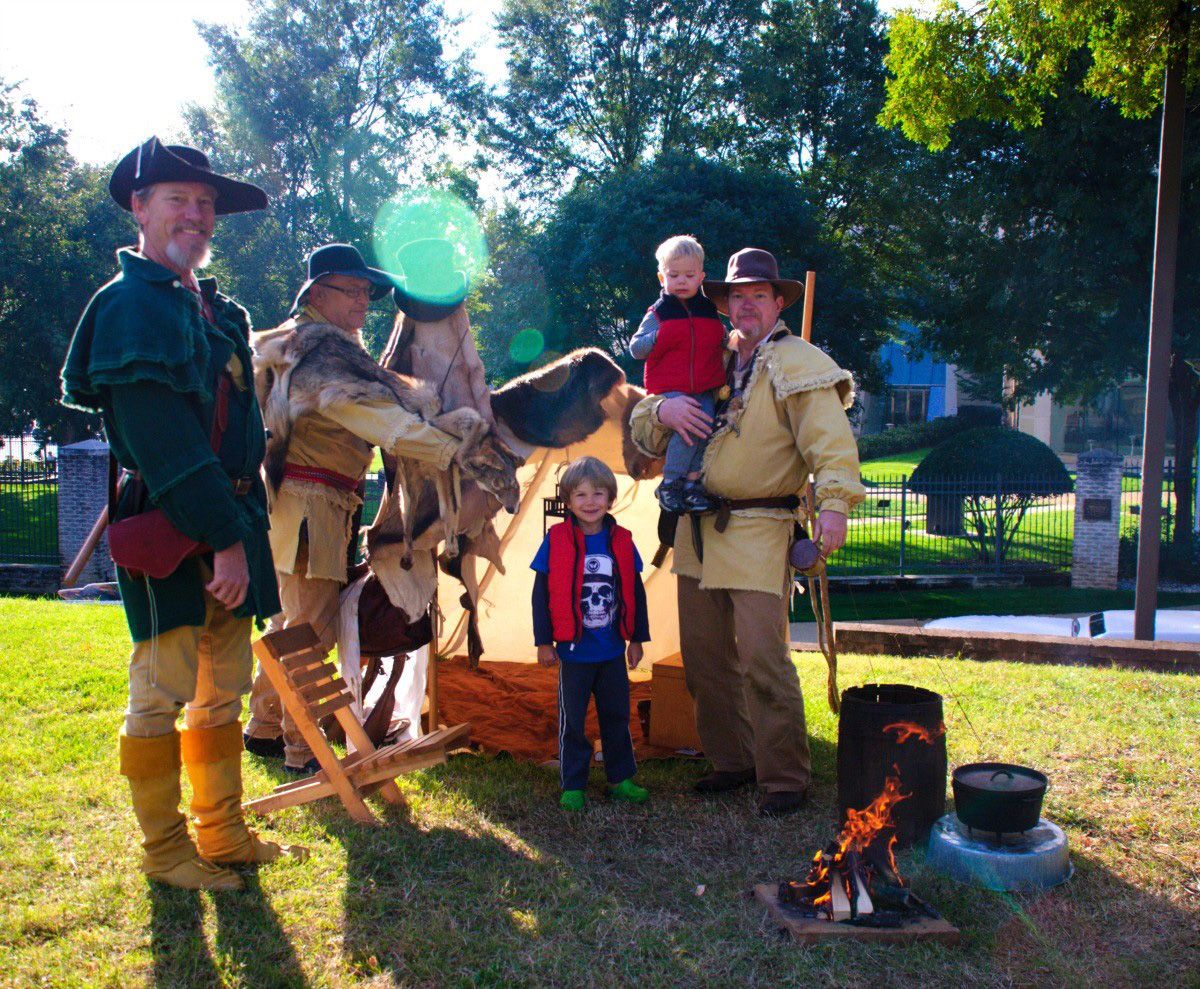 See living history encampments at the Cowboy Festival in October. Photo credit: Lesli Peterson
