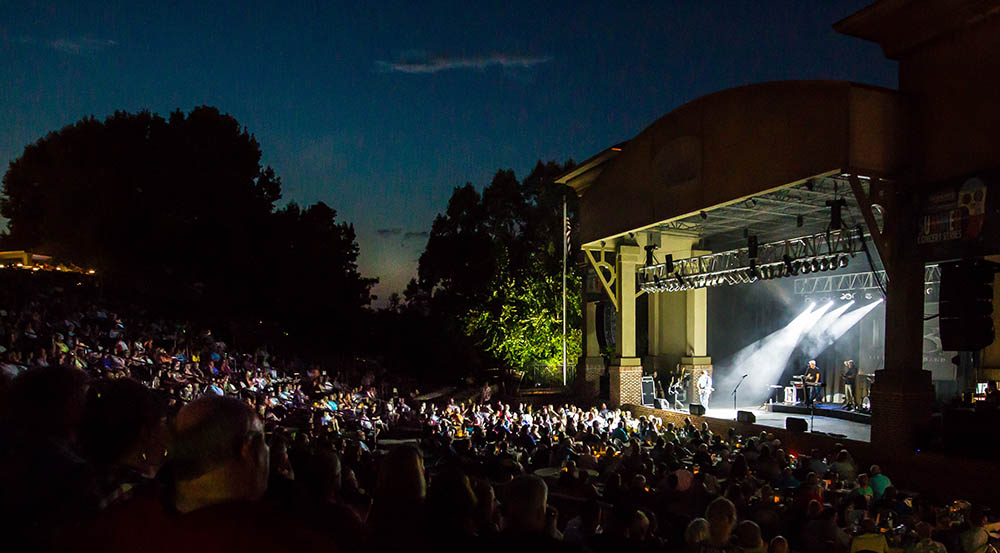 Southern Ground Amphitheater in Fayetteville. Photo by Deen Breest
