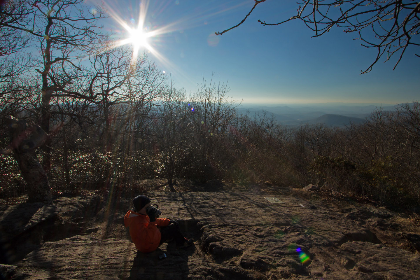 The Appalachian Trail begins, or ends, depending upon one's point of view, at Springer Mountain in northwest Georgia. - Tom Stone via Flickr