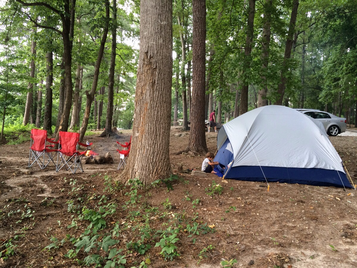 Easy Places to Go Camping in Georgia with Kids | Official