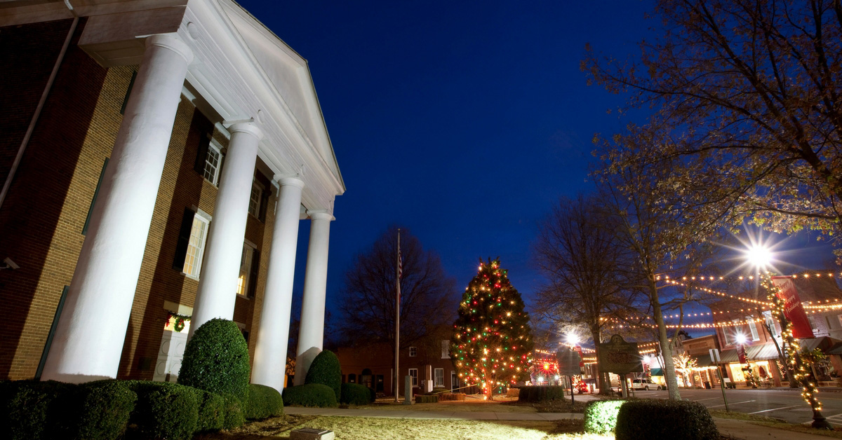 Greensboro Tree Lighting