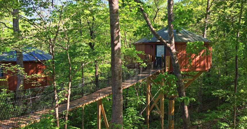 Treehouses at Historic Banning Mills