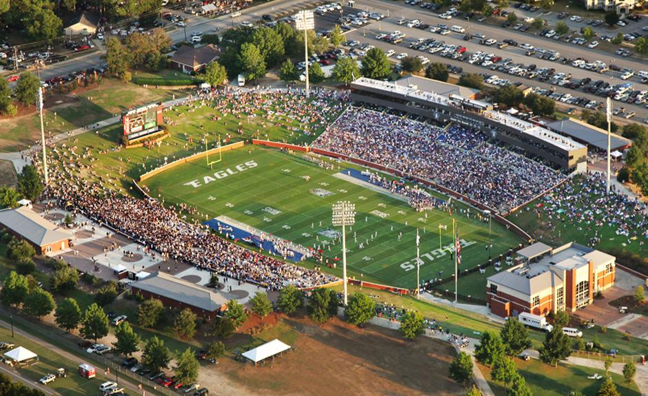 Paulson Stadium at Georgia Southern University in Statesboro